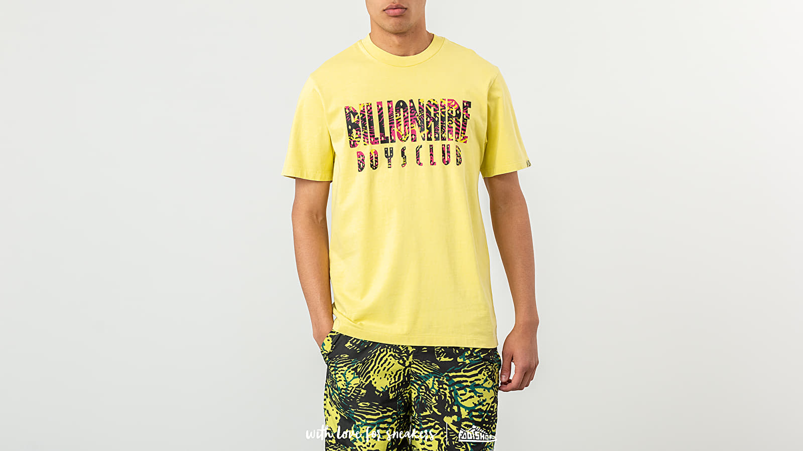 Billionaire Boys Club Pigment Dyed Fish Camo Tee