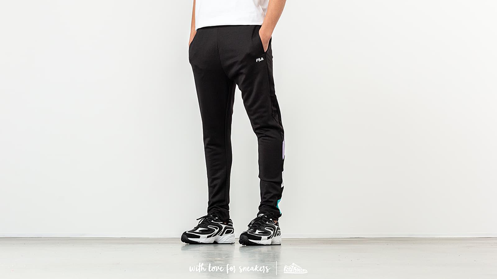 FILA Kamil Track Pants Black/ Violet Tulip/ Bright White/ Blue Curacao za skvělou cenu 2 090 Kč koupíte na Footshop.cz