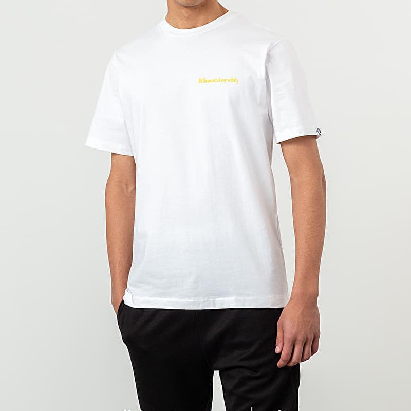 Billionaire Boys Club Small Logo Shortsleeve Tee White