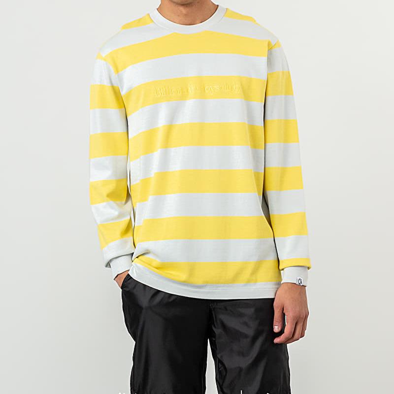 Billionaire Boys Club Heavy Striped Longsleeve Tee Yellow