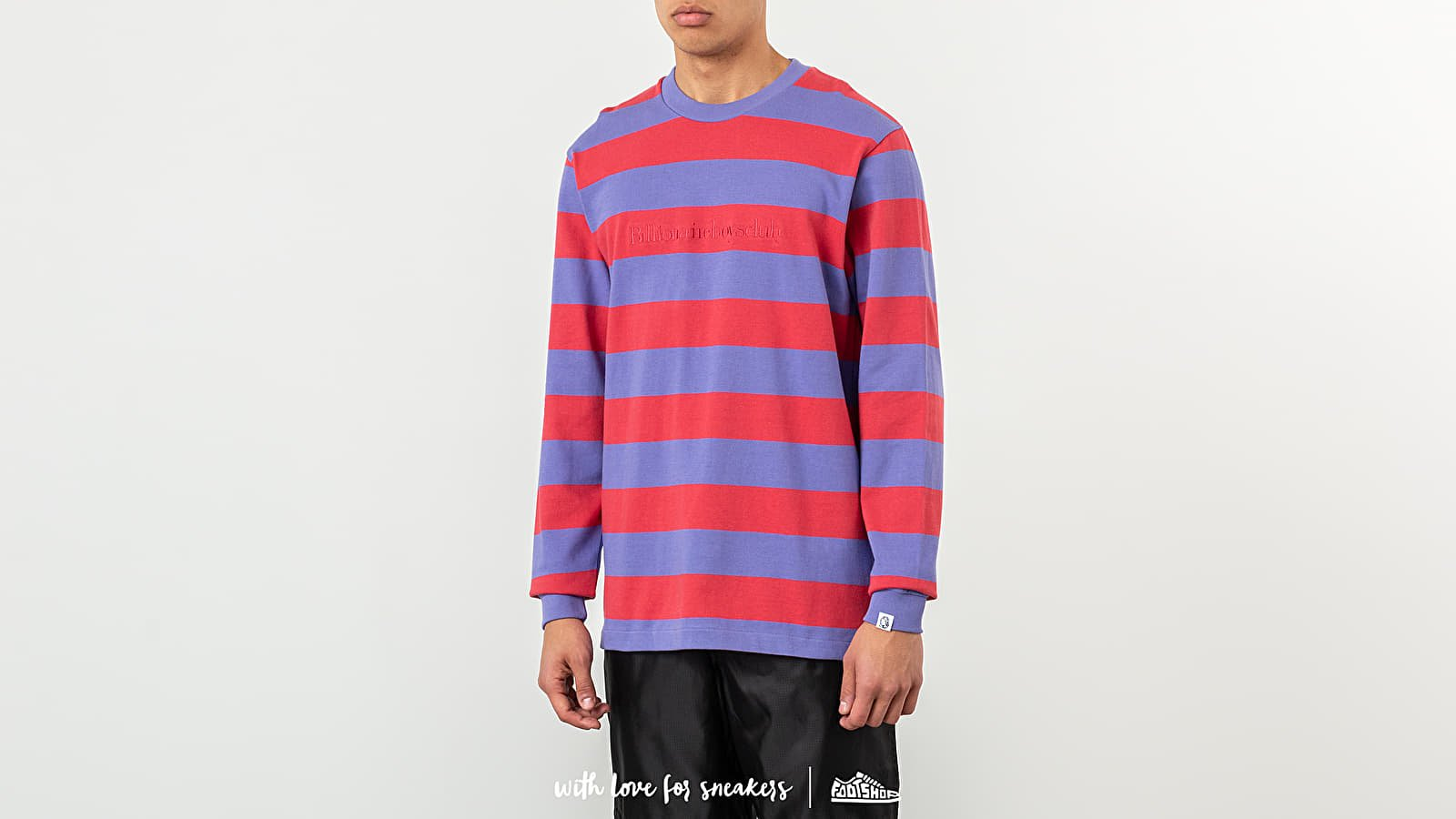 Billionaire Boys Club Heavy Striped Longsleeve Tee