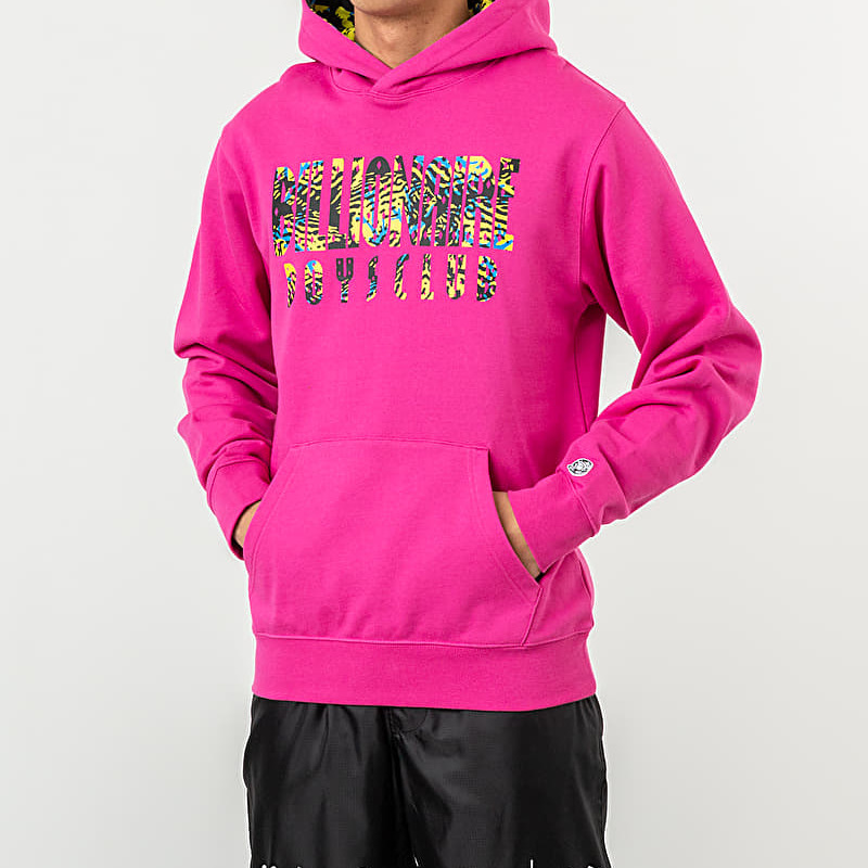 Billionaire Boys Club Fish Camo Popover Hood Pink