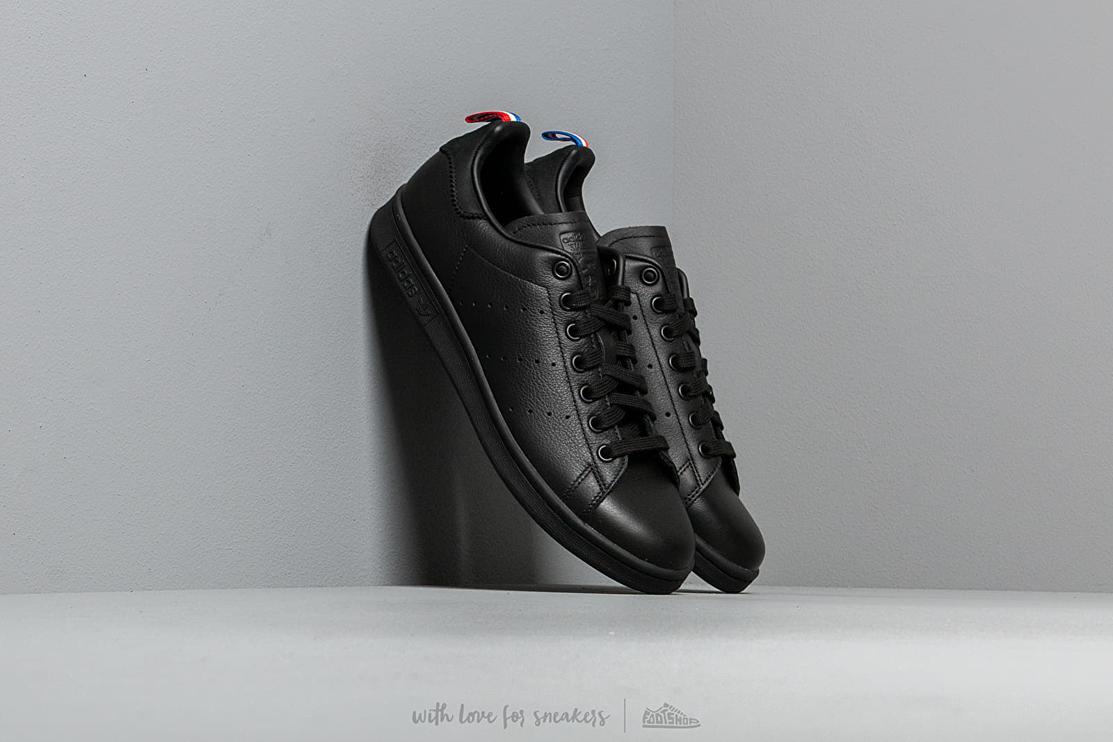 Ανδρικά παπούτσια adidas Stan Smith Core Black/ Ftw White/ Scarlet