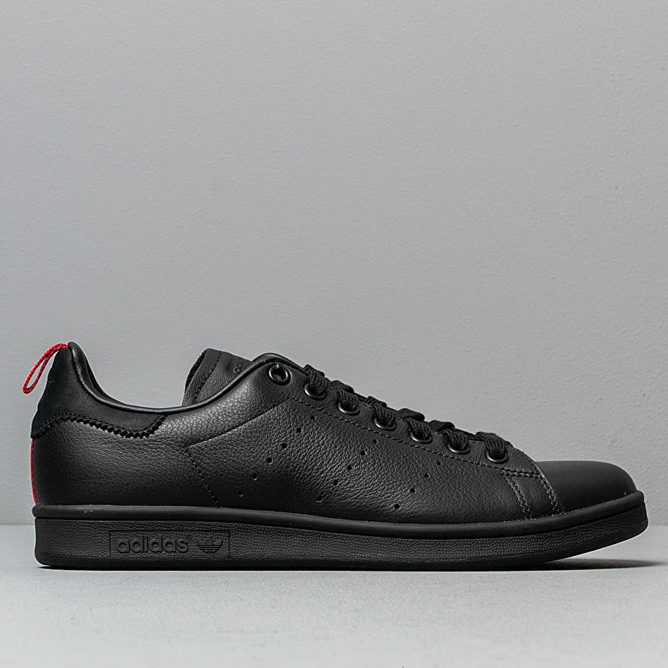 adidas Stan Smith Core Black/ Ftw White/ Scarlet