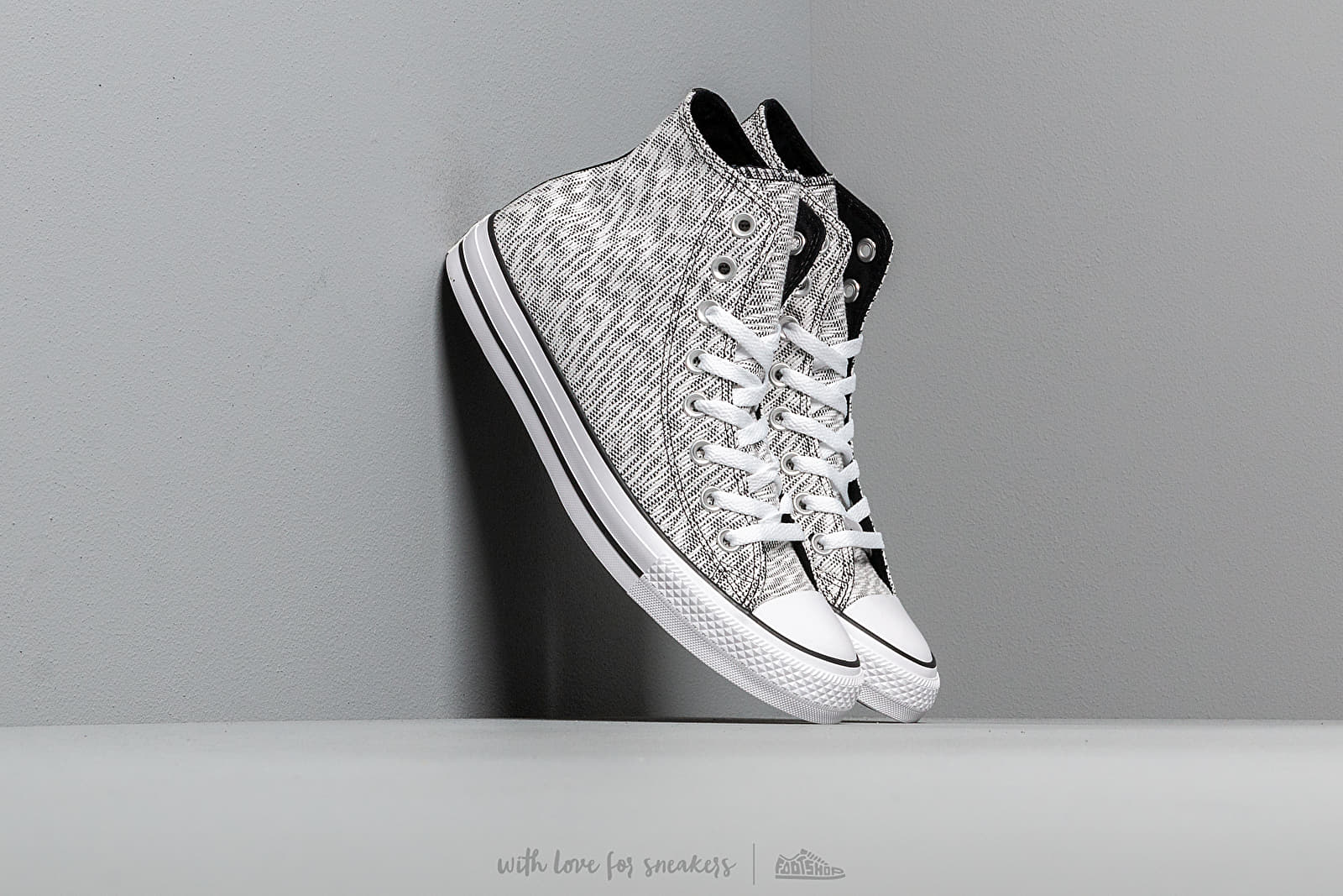 Converse Chuck Taylor All Star Woven High Top Black/ White/ White at a great price 77 € buy at Footshop