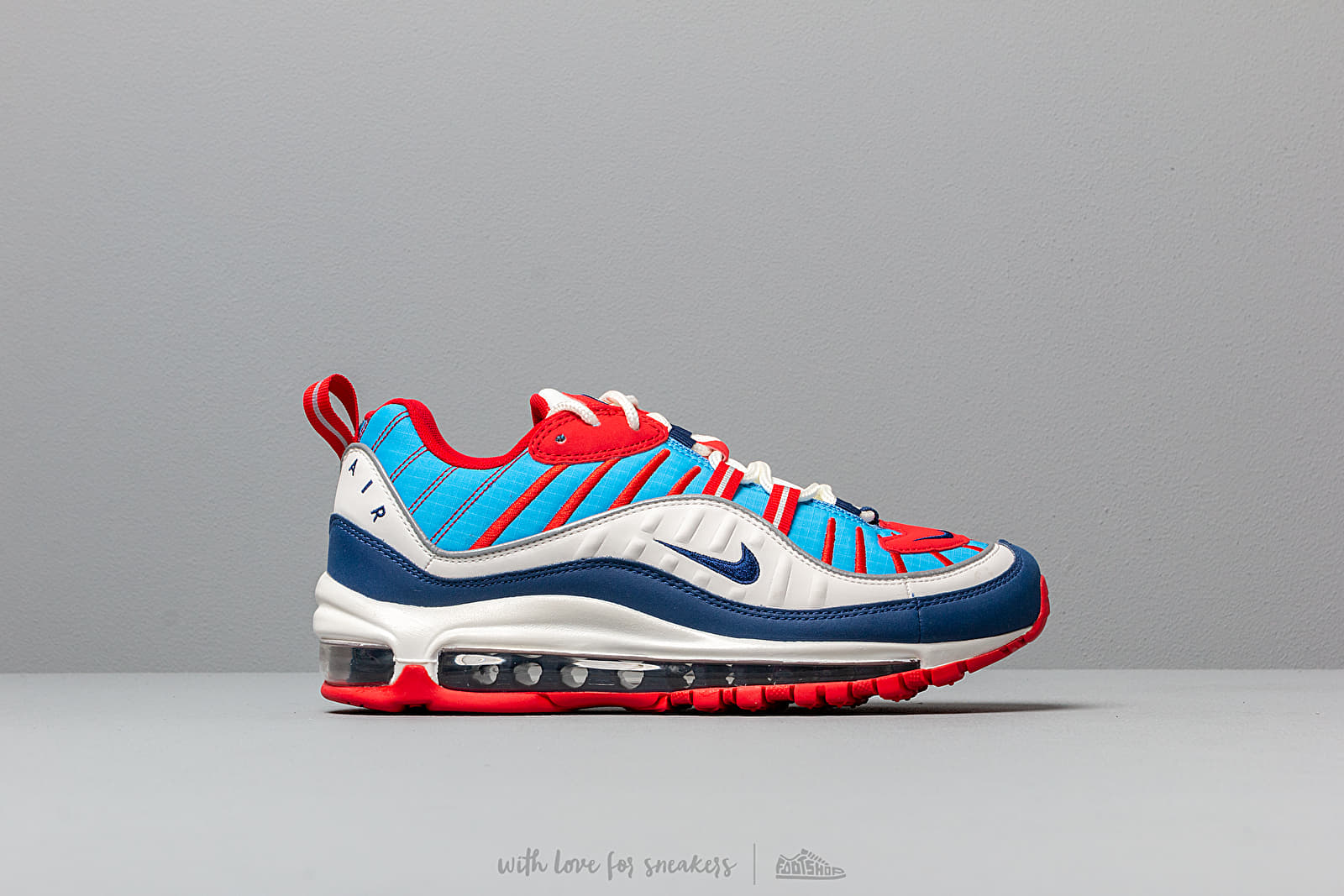 ec156dd90a Nike W Air Max 98 Summit White/ Blue Void-University Red at a great