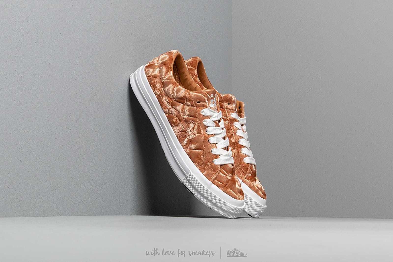 Men S Shoes Converse X Golf Le Fleur One Star Brown Sugar Brown Sugar White Footshop