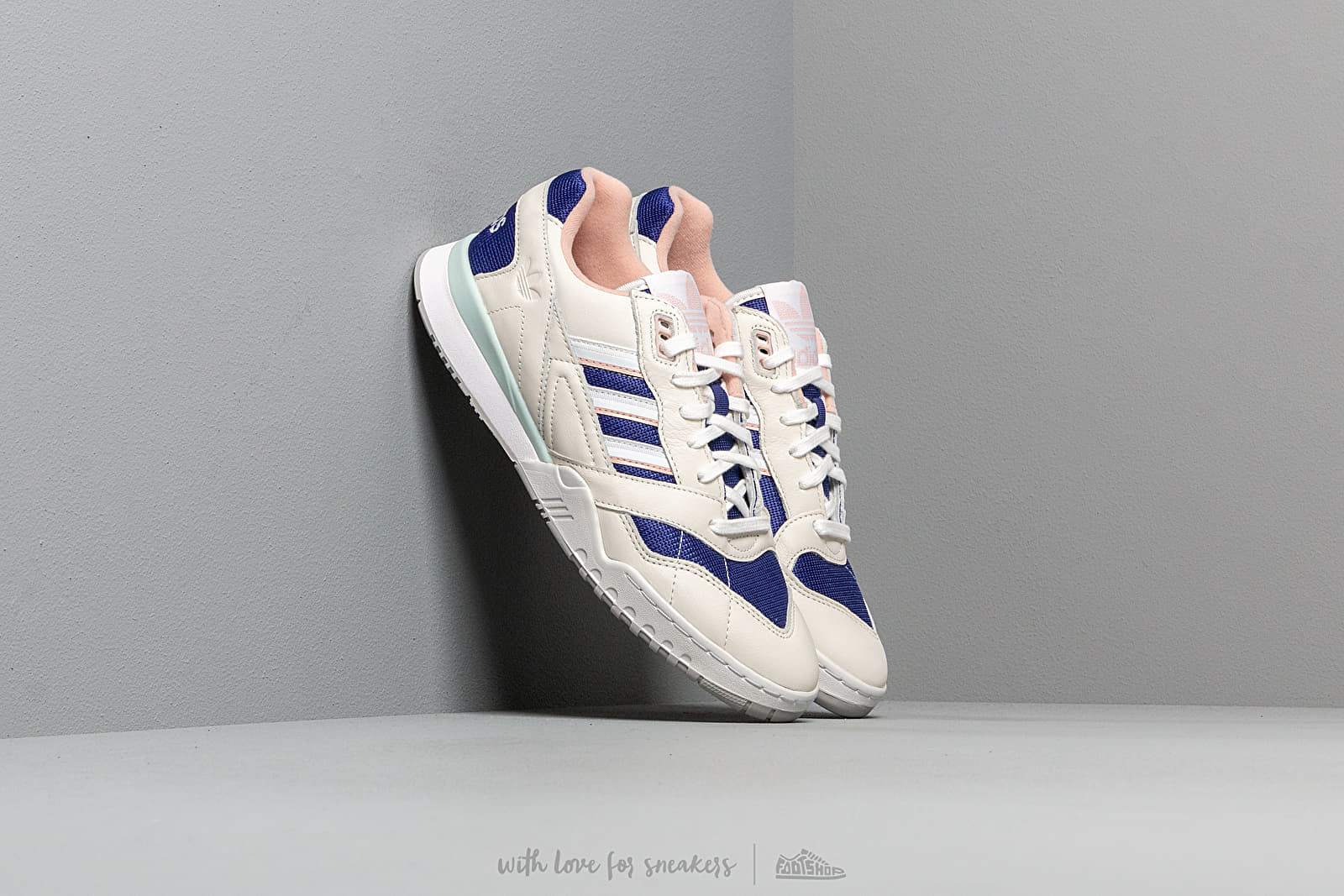 adidas A.R. Trainer Off White Ftw White Real Purple | Footshop