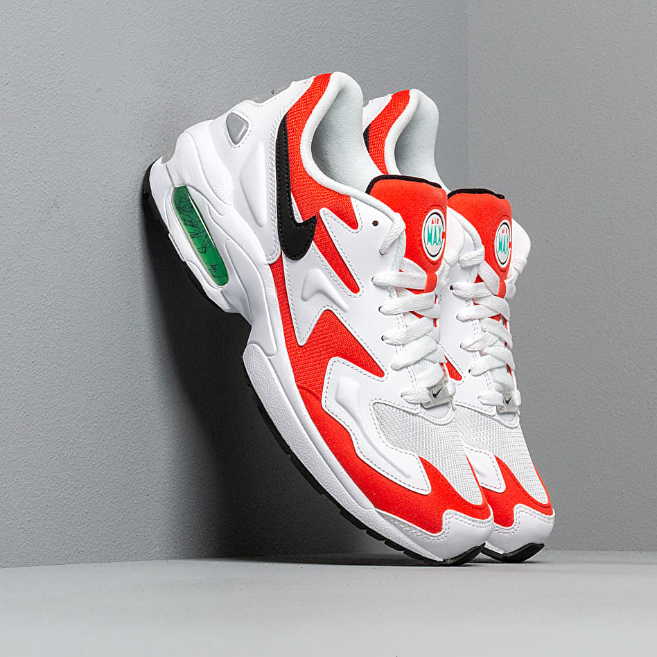 Nike Air Max2 Light White/ Black-Habanero Red-Cool Grey EUR 42.5