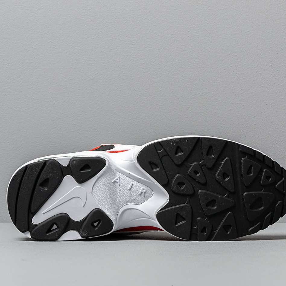Nike Air Max2 Light White/ Black-Habanero Red-Cool Grey