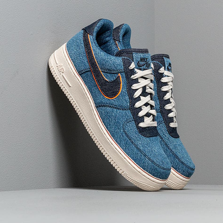 Nike Air Force 1 '07 Premium Stonewash Blue/ Dark Obsidian EUR 42.5