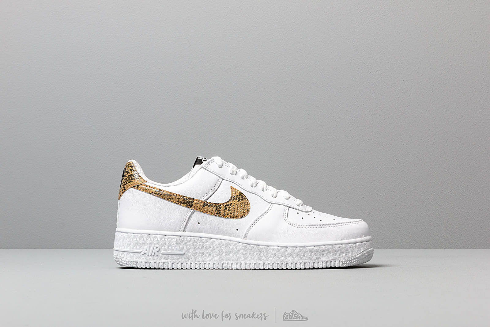 official site 2018 shoes lace up in Nike Air Force 1 Low Retro Premium QS White/ Elemental Gold ...