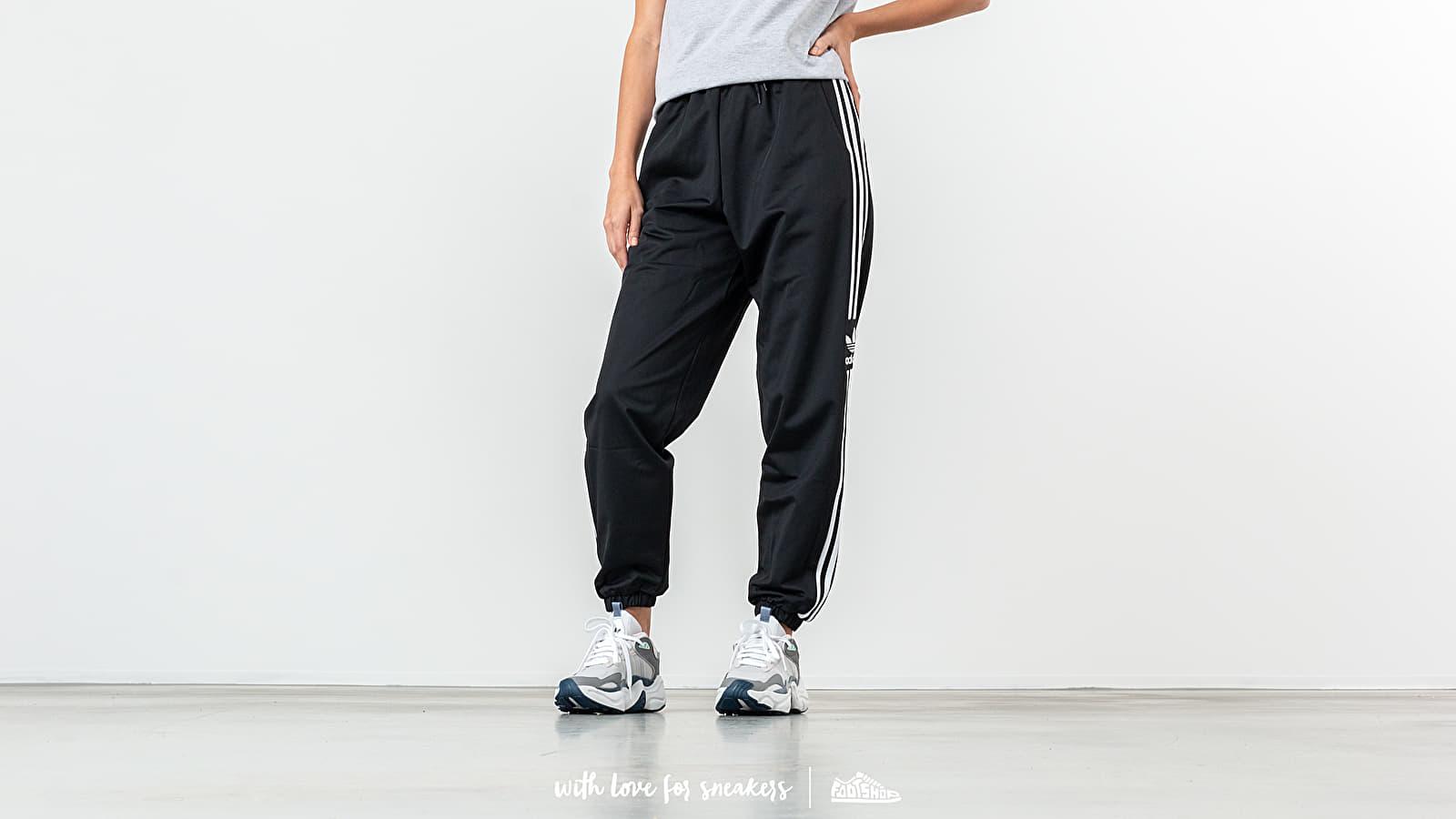 Canvas pants adidas Track Pants Black