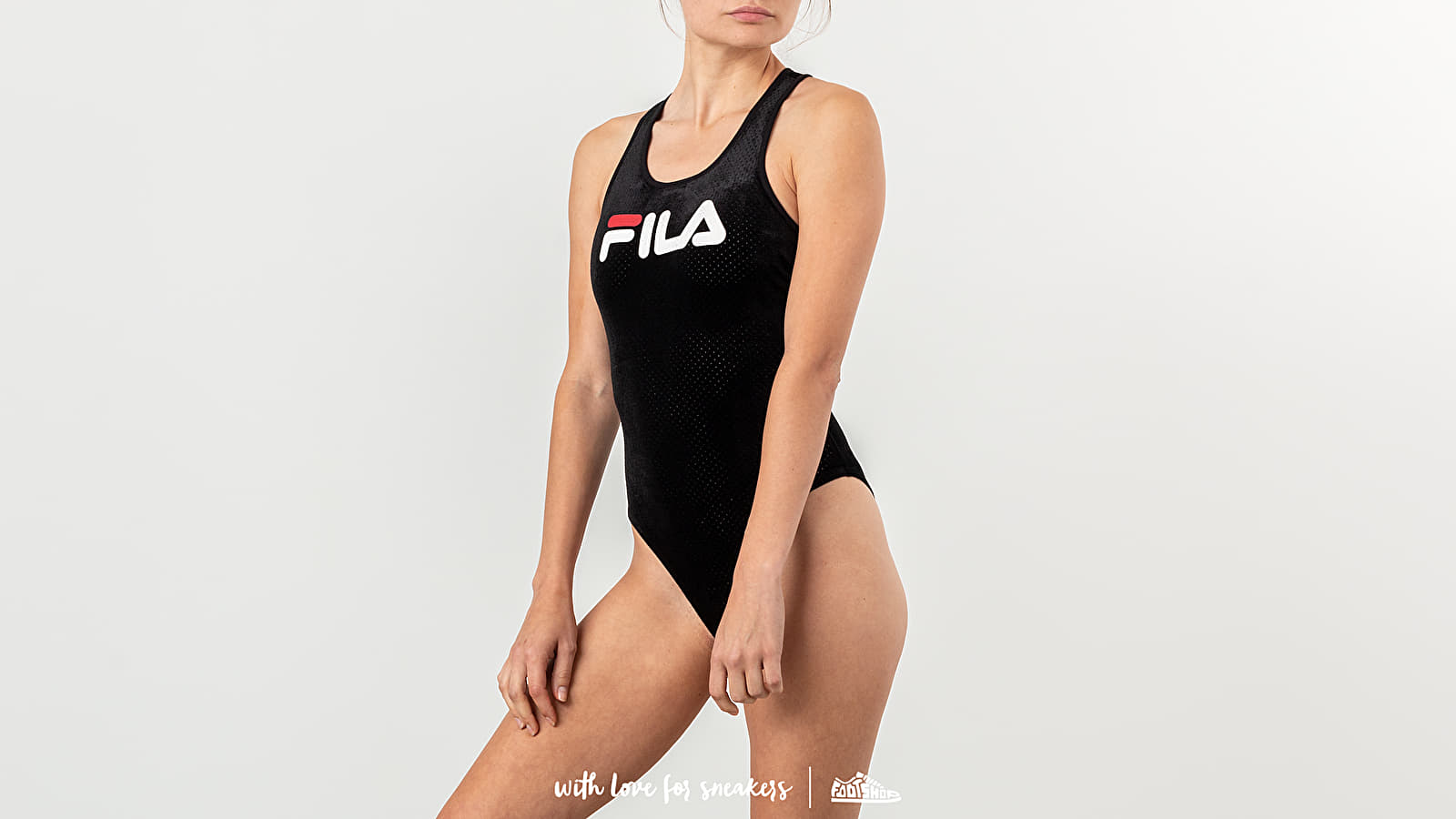 Бельо FILA Lupita Bodysuit Black