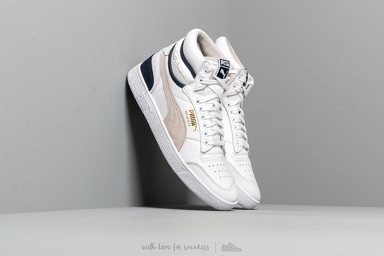 Puma x Ralph Sampson Mid OG Puma White/ Gray Violet/ Peacoat at a great price 106 € buy at Footshop