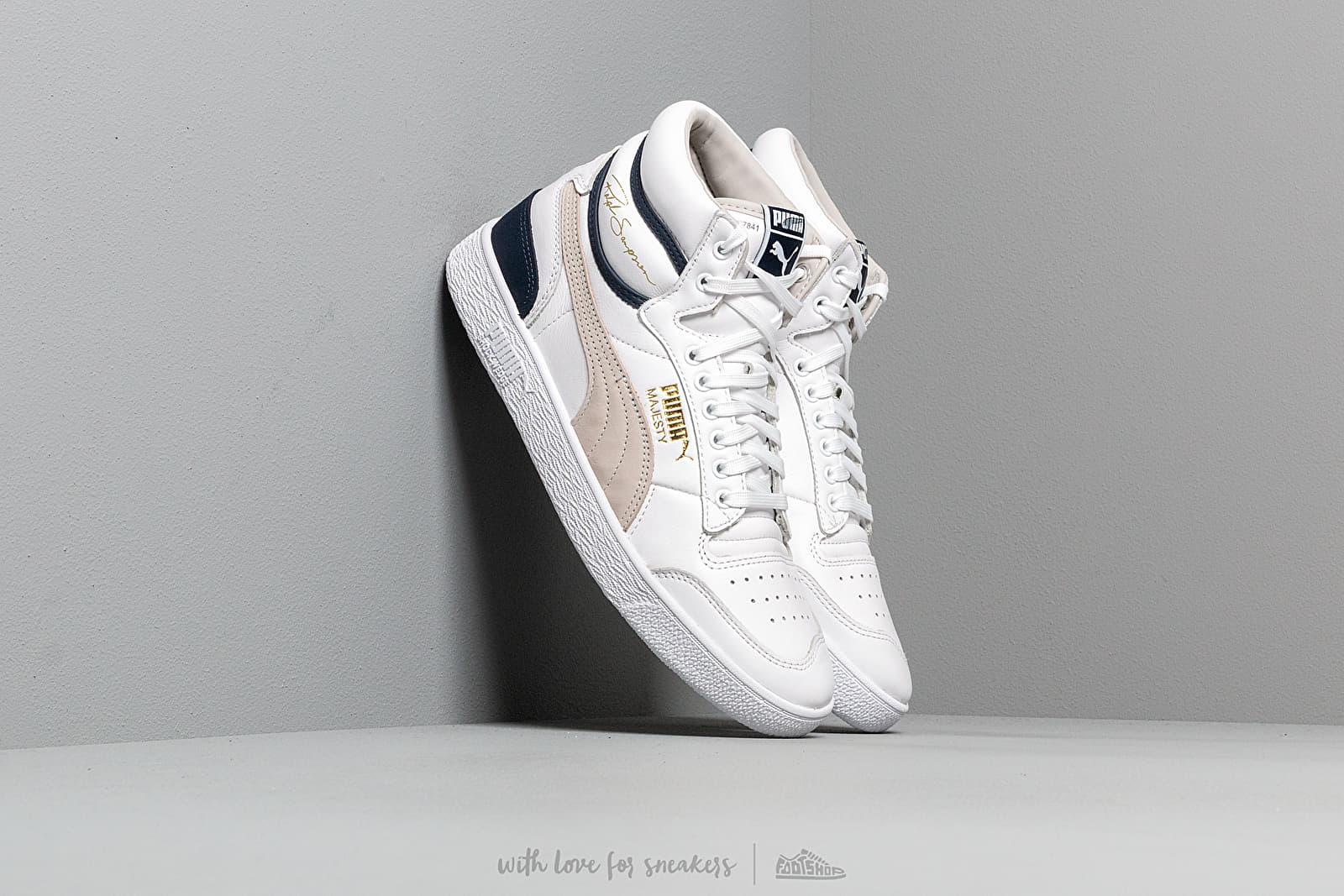 Puma x Ralph Sampson Mid OG Puma White/ Gray Violet/ Peacoat za skvělou cenu 2 890 Kč koupíte na Footshop.cz