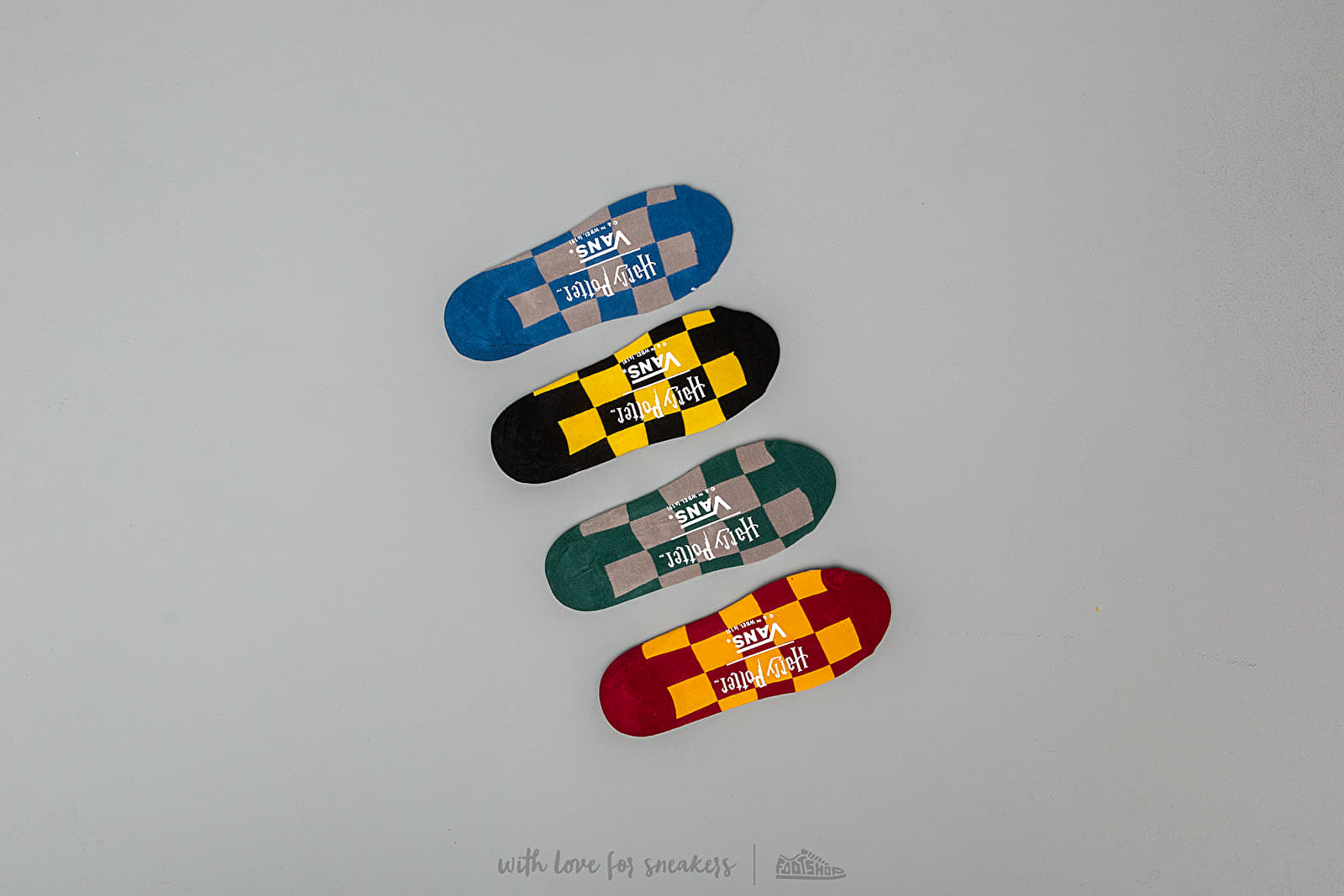 Vans x Harry Potter Hogwarts Canoodle Socks