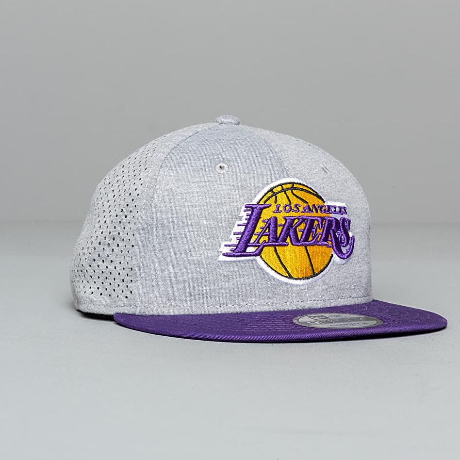 New Era 9Fifty NBA Shadow Tech Los Angeles Lakers Snapback Grey/ Violet, Gray
