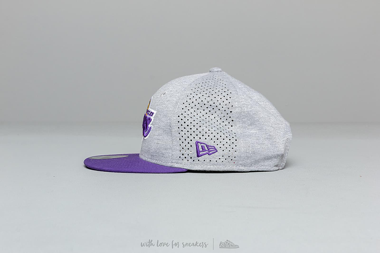 2cab66ade89440 New Era 9Fifty NBA Shadow Tech Los Angeles Lakers Snapback Grey/ Violet at  a great