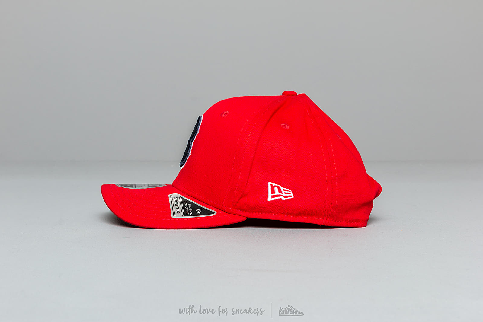 size 40 5281f cc680 New Era 9Fifty MLB Stretch Boston Red Sox Snapback Red at a great price 35 €