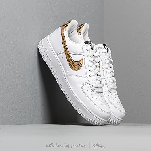 Nike Air Force 1 Low Retro Premium QS White Elemental Gold Dark Hazel Black   Footshop