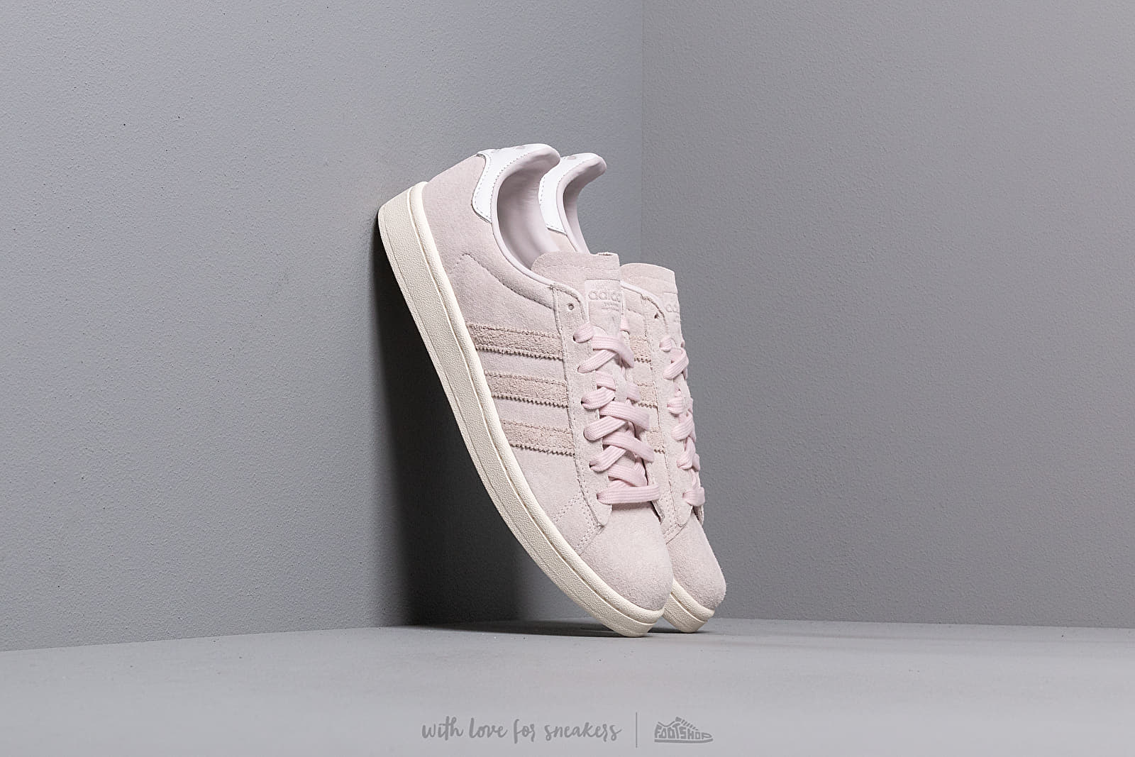 Men's shoes adidas Campus Orchid Tint/ Orchid Tint/ Ftw White