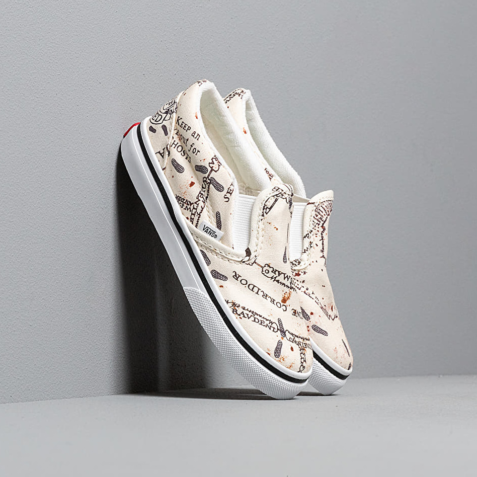 Vans x Harry Potter Classic SlipOn Marauders Map White