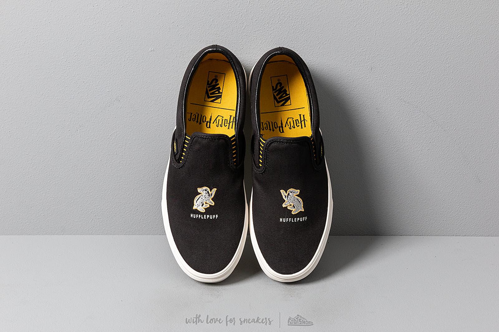 Vans x Harry Potter Classic Slip On Hufflepuff Black | Footshop