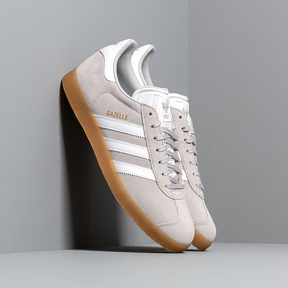 adidas Gazelle Grey Two/ Ftw White/ Gum3 EUR 46