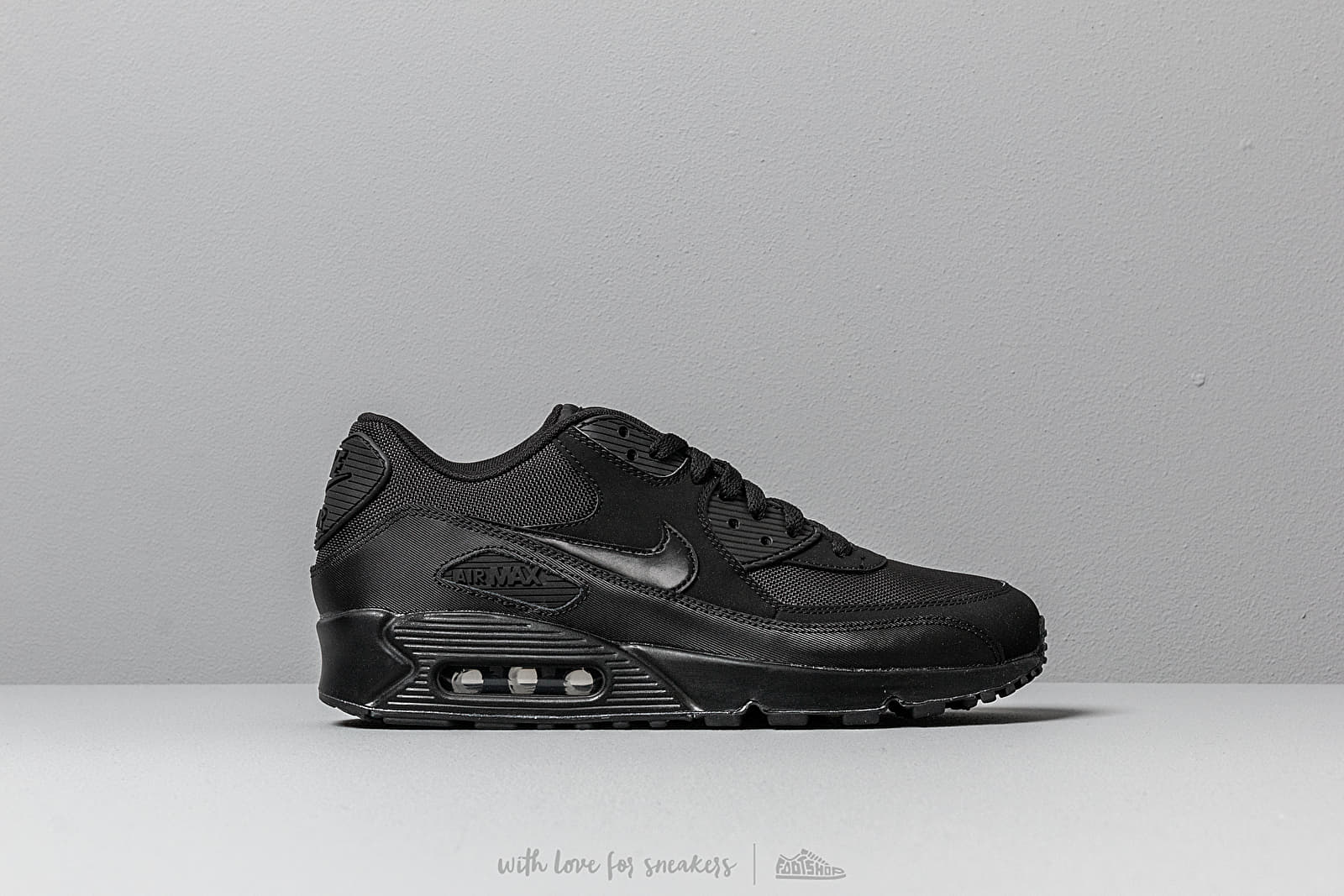 new product 729c9 e355d Nike Air Max 90 Essential Black/ Black-Black-Black at a great price