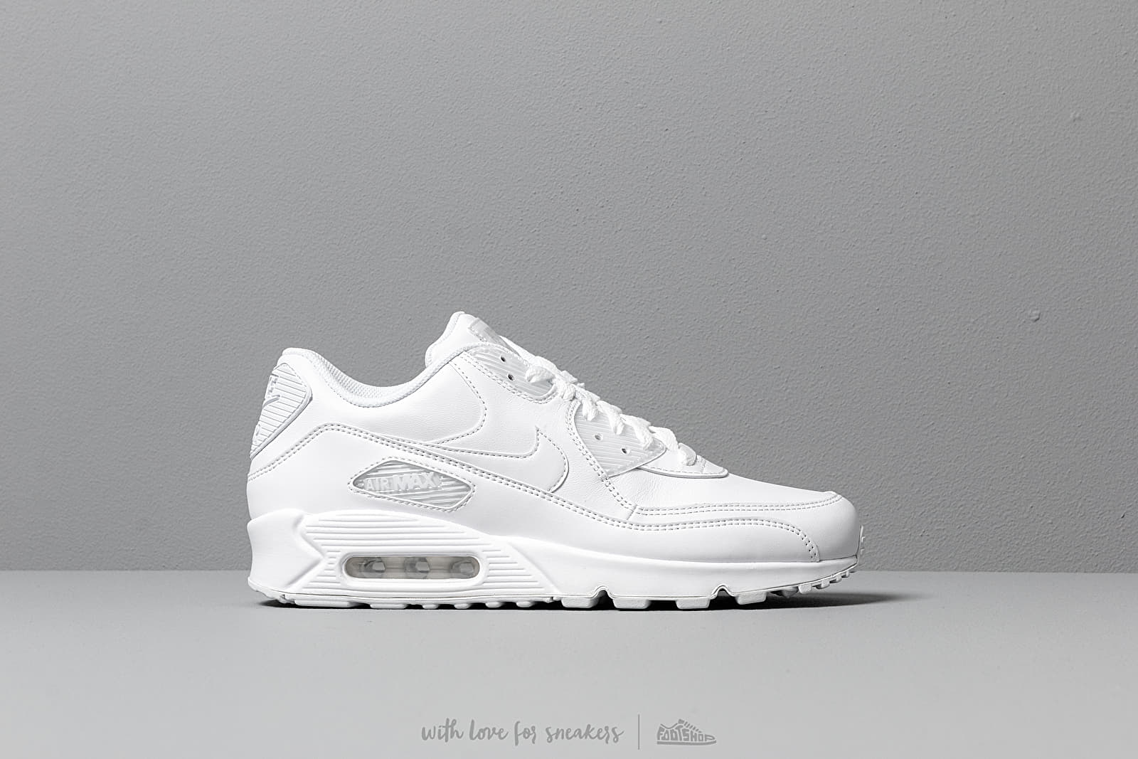 Nike Air Max 90 Leather True White True White | Footshop