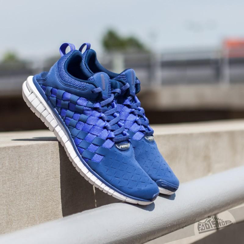 new product 2eea8 4fd7e Nike Free OG '14 Woven Blue Legend/ Midnight Navy | Footshop