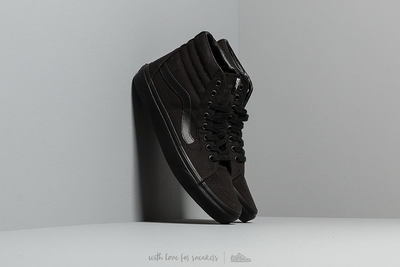 Vans Sk8-Hi Black/ Black za skvělou cenu 1 690 Kč koupíte na Footshop.cz