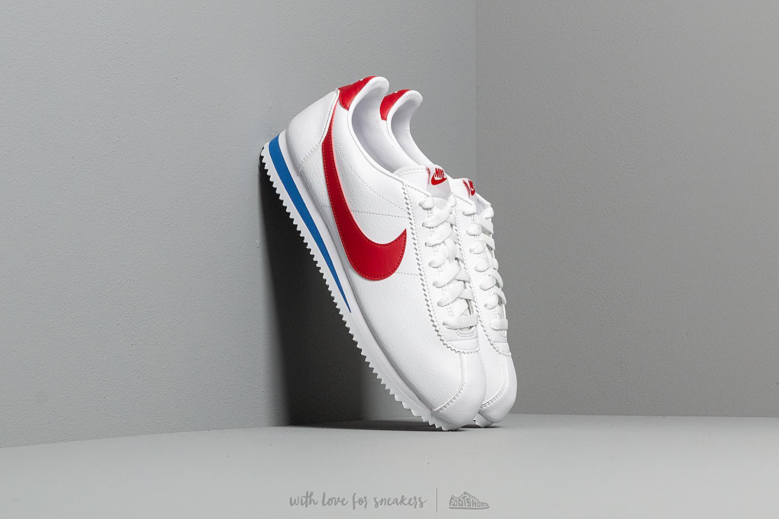 Nike Classic Cortez Leather White/ Varsity Red-Varsity Royal za skvělou cenu 2 290 Kč koupíte na Footshop.cz