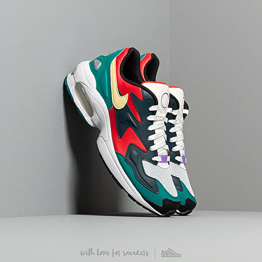 Nike Air Max 2 Light SP Habanero RedArmory Navy Radiant Emerald | Footshop