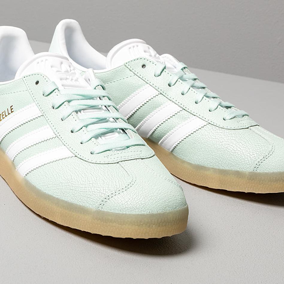 adidas Gazelle W Ice Mint/ Ftw White/ Ecru Tint, Green