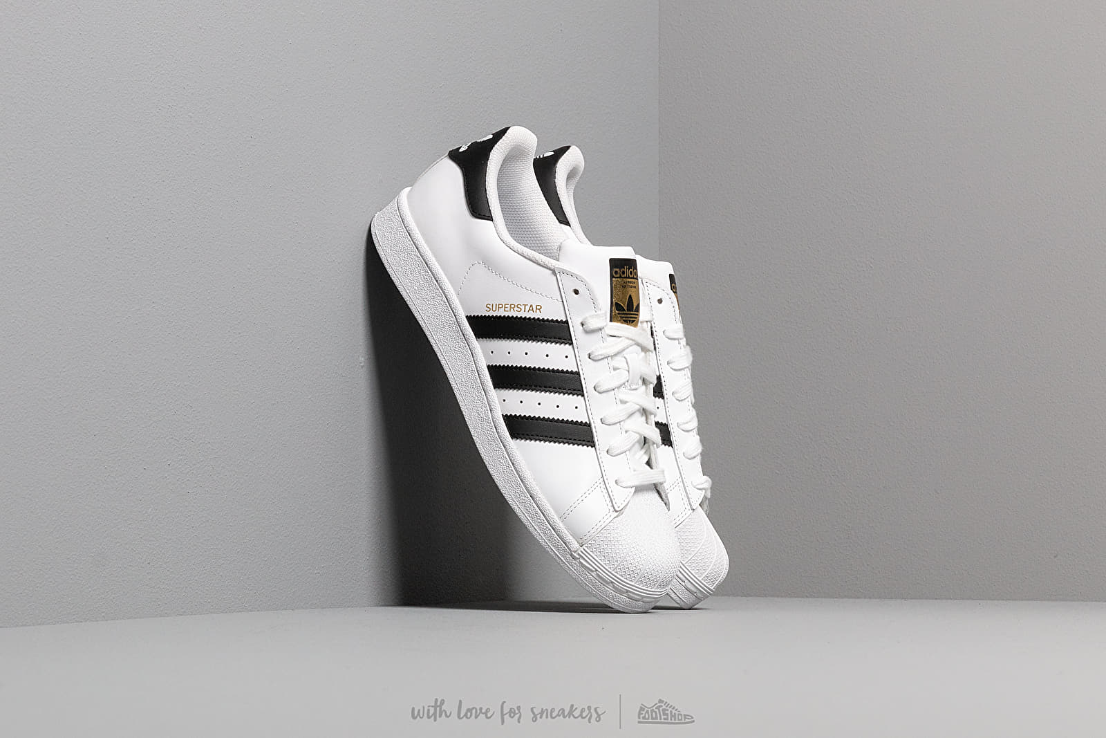 Ανδρικά παπούτσια adidas Superstar Ftw White/ Core Black/ Ftw White