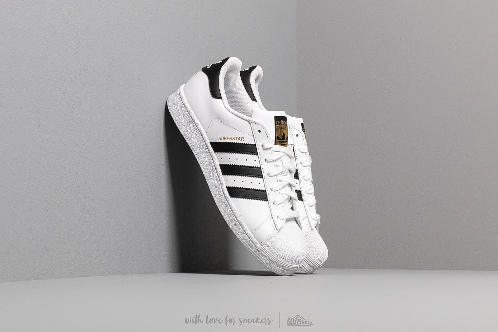 adidas Superstar Ftw White/ Core Black/ Ftw White za skvělou cenu 2 690 Kč koupíte na Footshop.cz