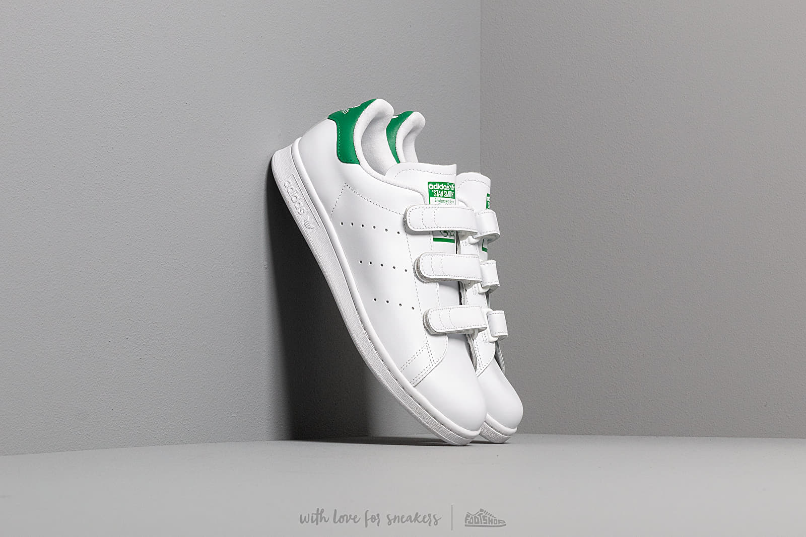 Чоловіче взуття adidas Stan Smith CF Ftw White/ Ftw White/ Green