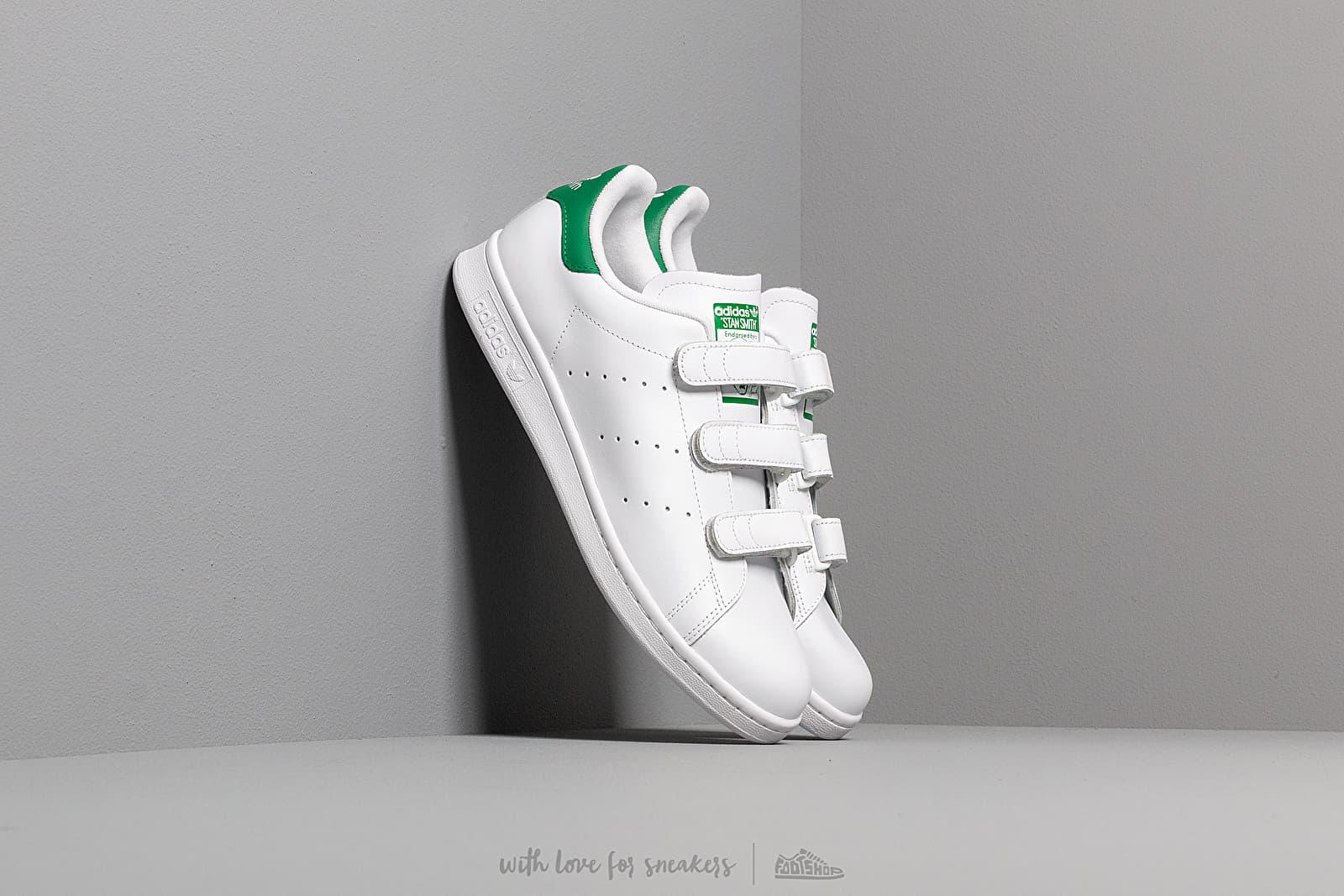 adidas Stan Smith CF Ftw White/ Ftw White/ Green za skvělou cenu 2 591 Kč koupíte na Footshop.cz