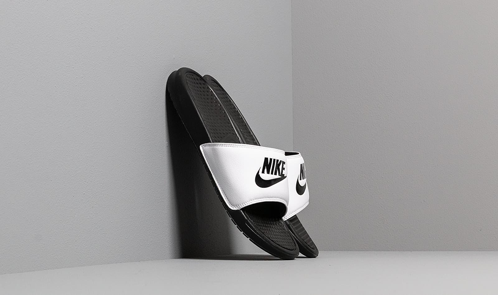 Nike Benassi Jdi White/ Black-Black EUR 41