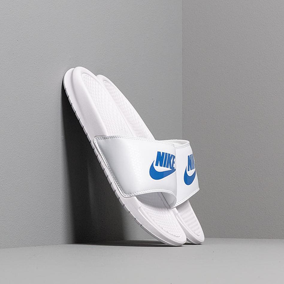 Nike Benassi Jdi White/ Varsity Royal-White EUR 42.5