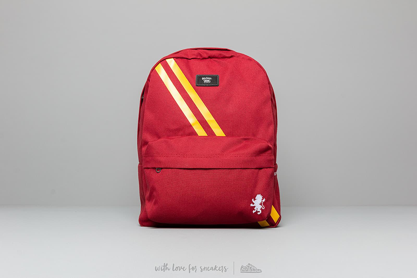 Vans x Harry Potter Old Skoll III Gryffindor Backpack Red za skvělou cenu 990 Kč koupíte na Footshop.cz