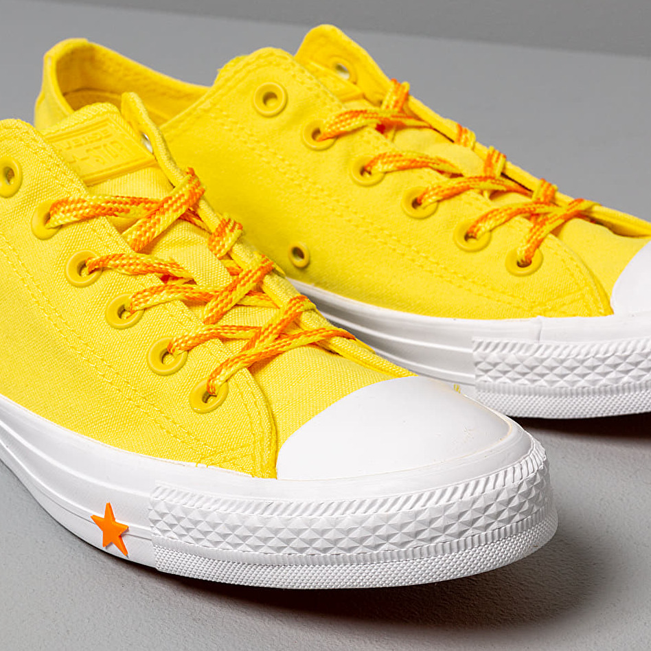 Converse Chuck Taylor All Star Fresh Yellow/ Orange Rind/ White