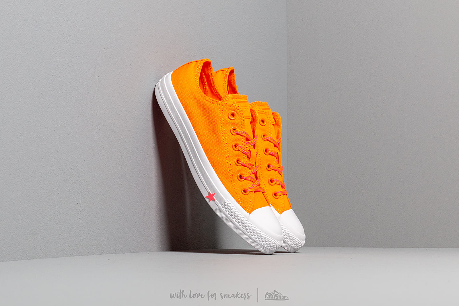 d5183edfebea9 Converse Chuck Taylor All Star Orange Rind/ Racer Pink/ White W super cenie  338