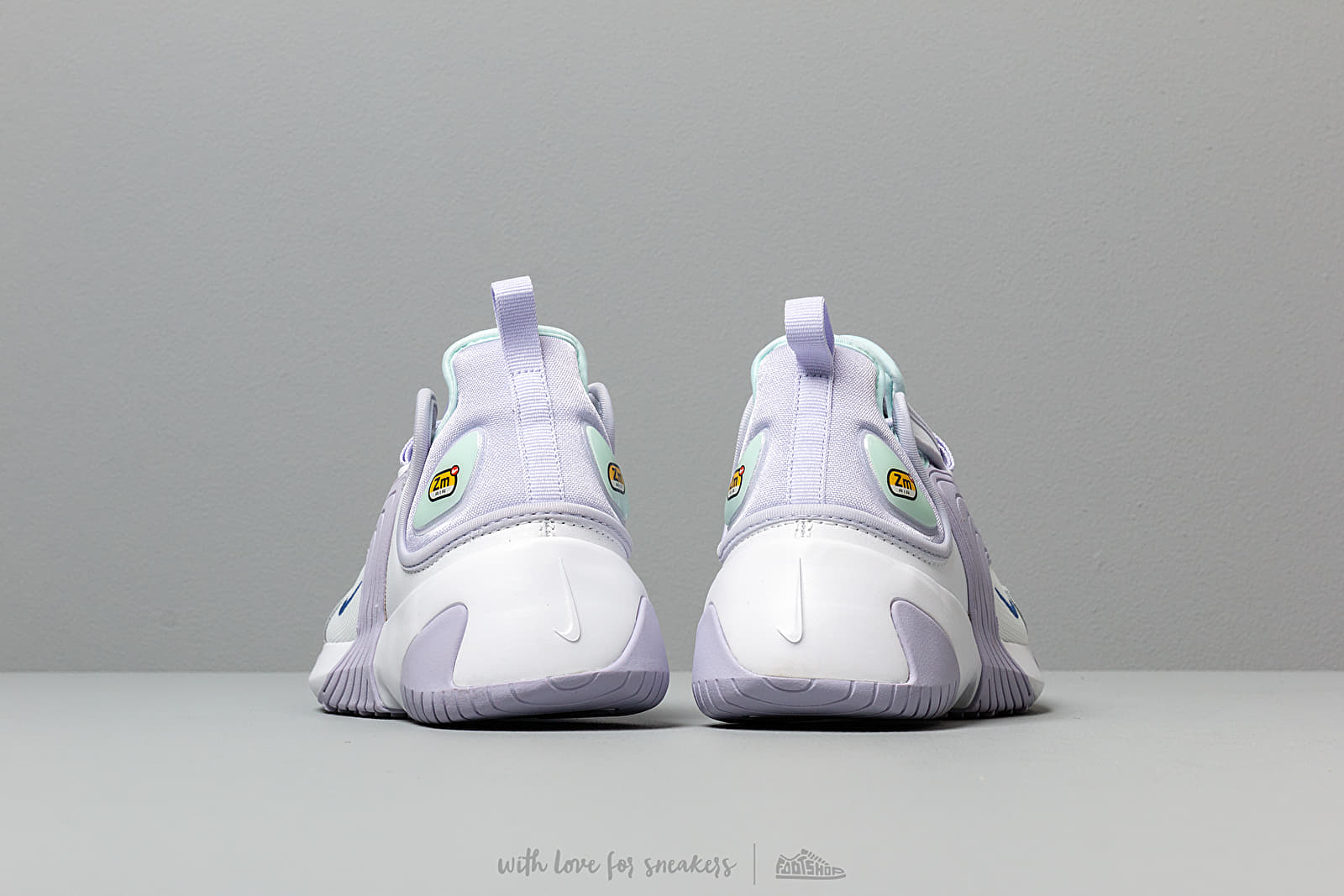Nike Wmns Zoom 2KWhite Sapphire Oxygen Purple Teal Tint