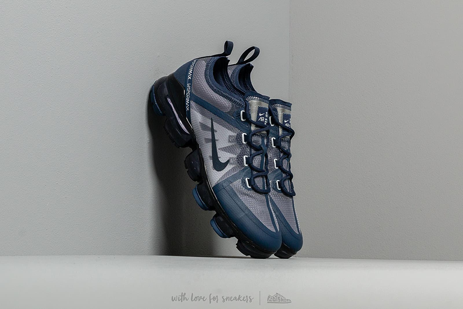 Nike Air Vapormax 2019 (GS) Midnight Navy/ Obsidian-Wolf Grey za skvělou cenu 3 690 Kč koupíte na Footshop.cz