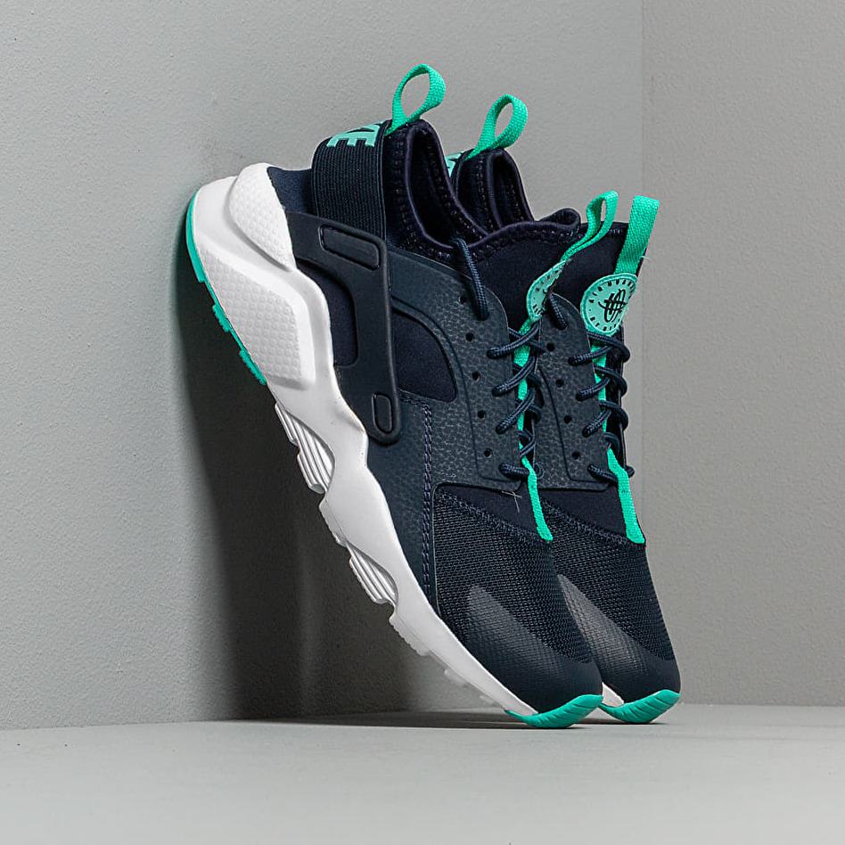 Nike Air Huarache Run Ultra Gs Obsidian/ Hyper Jade-White EUR 38.5