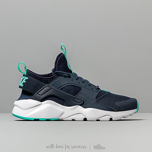 outlet store 75a62 54d0d Nike Air Huarache Run Ultra Gs Obsidian/ Hyper Jade-White | Footshop