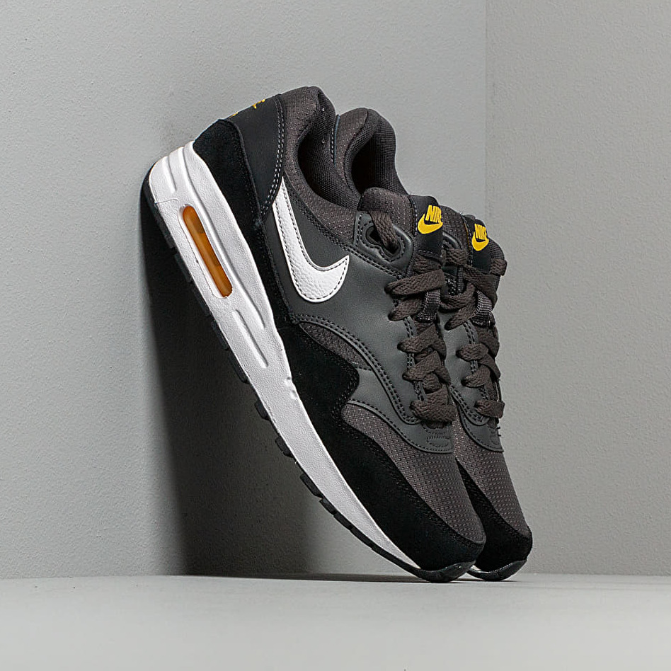 Nike Air Max 1 (GS) Anthracite/ White-Black-Amarillo EUR 36